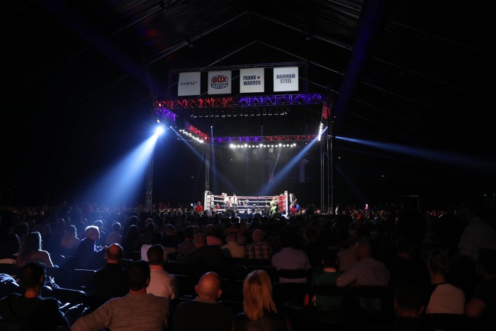 Homecoming Belfast Fight Night at the Titanic Exhibition Centre